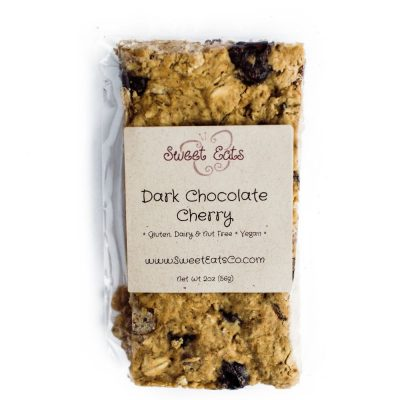 Dark Chocolate Cherry Granola Bar