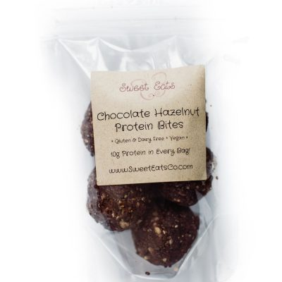 Chocolate Hazelnut Protein Bites