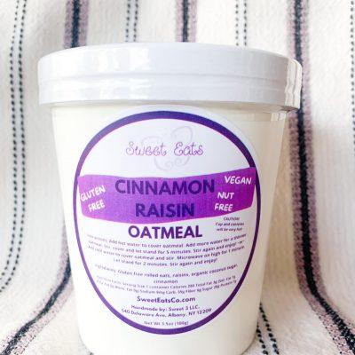 Cinnamon Raisin Oatmeal Cup