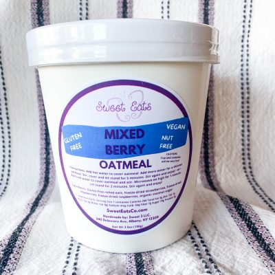 Mixed Berry Oatmeal Cup