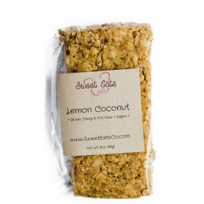 Lemon Coconut Granola Bar