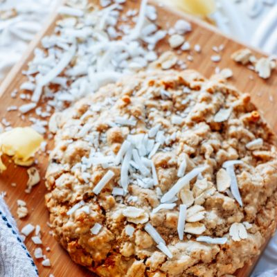 Lemon Coconut Breakfast Cookie ~ 4 Pack