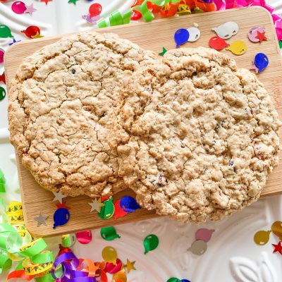 *Cookie Of The Month* Celebration Breakfast Cookie ~ 4 Pack